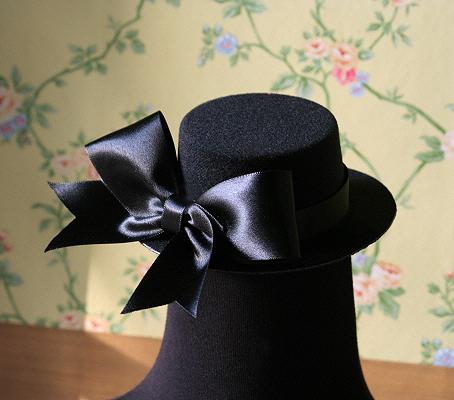 Palariuta neagra eleganta cu funda